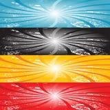 Set Of Web Banners Stock Photos