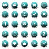 Set Of Web Buttons Stock Photos