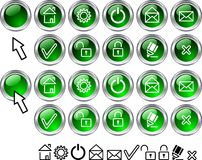 Free Set Of Web Icons. Stock Images - 4221554