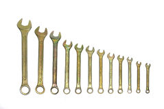 Set Of Wrenches Stock Photo