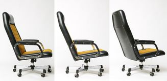 Set of office chair old design Stock Image