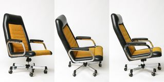 Set of office chair old design Stock Photo