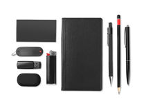 Set of office stationery Royalty Free Stock Photography