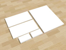 Set of office stationery for brand presentation on Stock Photo