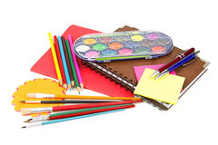 Set of office supplies Royalty Free Stock Image