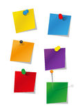 Set of office supplies Stock Photo