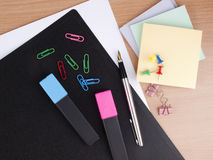 Set of the  office tools Royalty Free Stock Photography