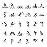 Set of official sports icon Stock Image
