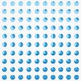 Set okregów diagramy Obraz Stock