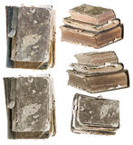 Set of old books Royalty Free Stock Images