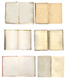 Set of old books Royalty Free Stock Image