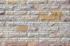Set 9. old brick wall background. Stock Images