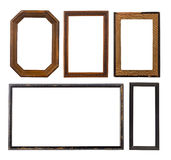 Set of old frames Stock Photos