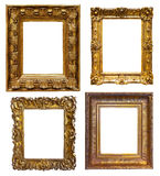 Set of old   frames Royalty Free Stock Photo