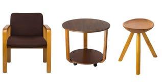 Set of old furniture Stock Photos