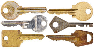 Set of old keys Stock Photography