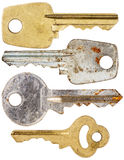 Set of old keys Stock Image
