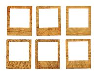 Set of old paper slides Royalty Free Stock Photography