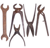 Old rusty tools Stock Photos