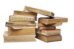 Set of old vintage books Stock Images