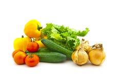 set olika grönsaker för frukt Royaltyfri Foto