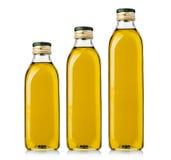 Set of Olive  Bottles Royalty Free Stock Photo