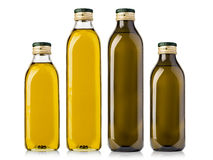Set of Olive  Bottles Stock Photo