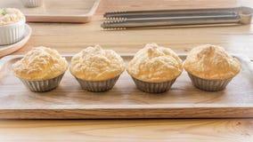 Set of Omelete Souffle Stock Photo