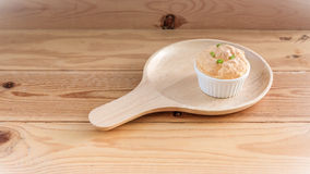 Set of Omelete Souffle Royalty Free Stock Images