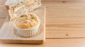Set of Omelete Souffle. Omelete Souffle in the morning stock photography