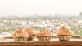 Set of Omelete Souffle. Omelete Souffle in the morning stock image