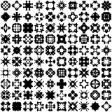 Set of one hundred hand draw elements for design. Stock Photography
