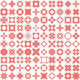 Set of one hundred hand draw elements for design. Royalty Free Stock Photography