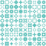 Set of one hundred hand draw elements for design. Stock Photos