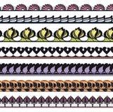 Set openwork koronka royalty ilustracja