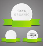 Set of organic icons Stock Photography