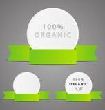 Set of organic icons Stock Photography