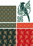 Set of Oriental Design Elements Royalty Free Stock Images