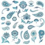 Set of Oriental Elements Royalty Free Stock Photos