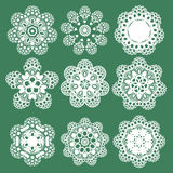 Set of Oriental vector pattern with arabesque and floral elements. Traditional ornament. Vector Stock Photos