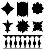 Set of original vector design elements Stock Images