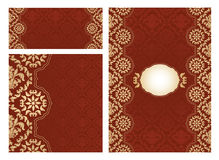 Set of ornament  frames Royalty Free Stock Photos