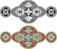 Set of ornament patterns Stock Images