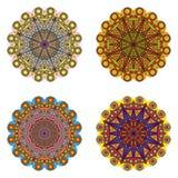 Set ornamentacyjni elementy royalty ilustracja