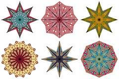 Set ornamentacyjni elementy ilustracji