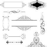 Set ornamental design Stock Images