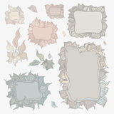 Set of ornamental frames. Stock Photography