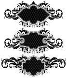 Set of ornamental frames Royalty Free Stock Photography