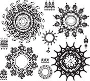Set of ornamental pattern Royalty Free Stock Images