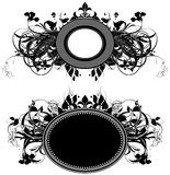 Set of ornamental shields Royalty Free Stock Photo